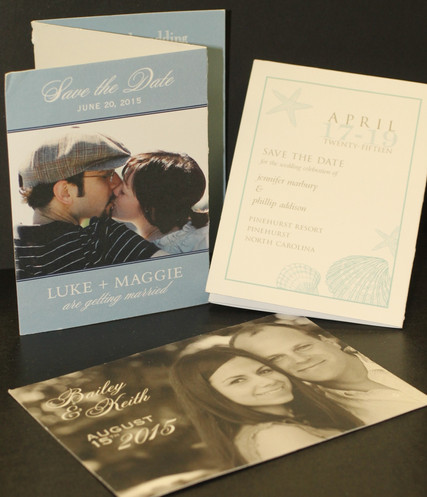 Trifold and postcards
