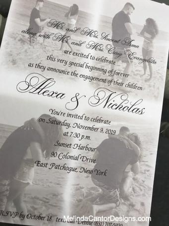 Alexa and Nick's Engagement