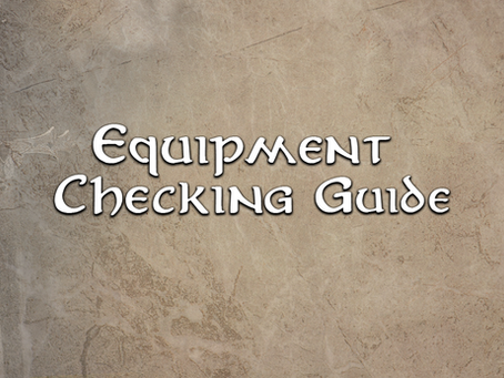 Equipment Checking Guide 02 Melee Weapons