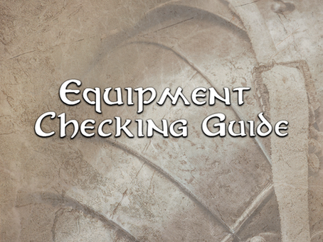 Equipment Checking Guide 04 Shields & Armor