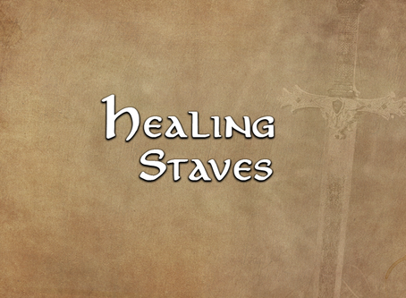 Healing Staves, an Overview