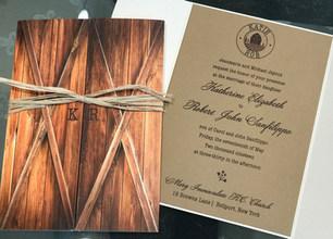 Rustic Invitations