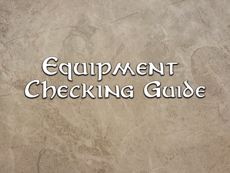 Equipment Checking Guide 01 Introduction