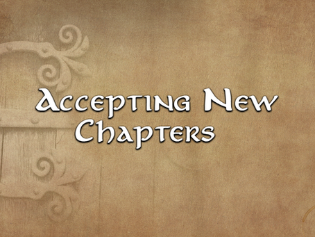 Accepting New Chapters!