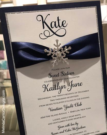 Kate's Sweet 16