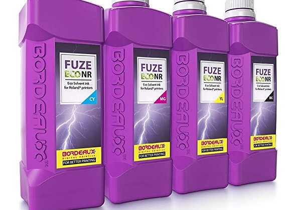 Bordeaux Fuze ECO NR Ink for Roland printers - 1L Bottle