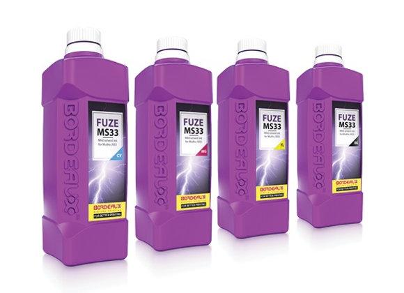 Bordeaux Fuze MS33 Mild Solvent Ink for Mimaki JV & CJV  - 1 Liter Bottle
