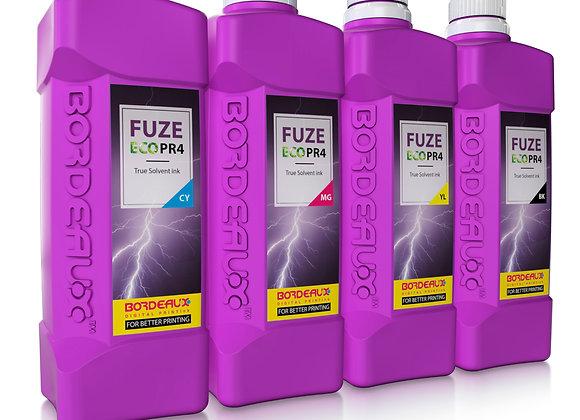 Bordeaux Fuze ECO PR4 Ink for Roland printers - 1L Bottle