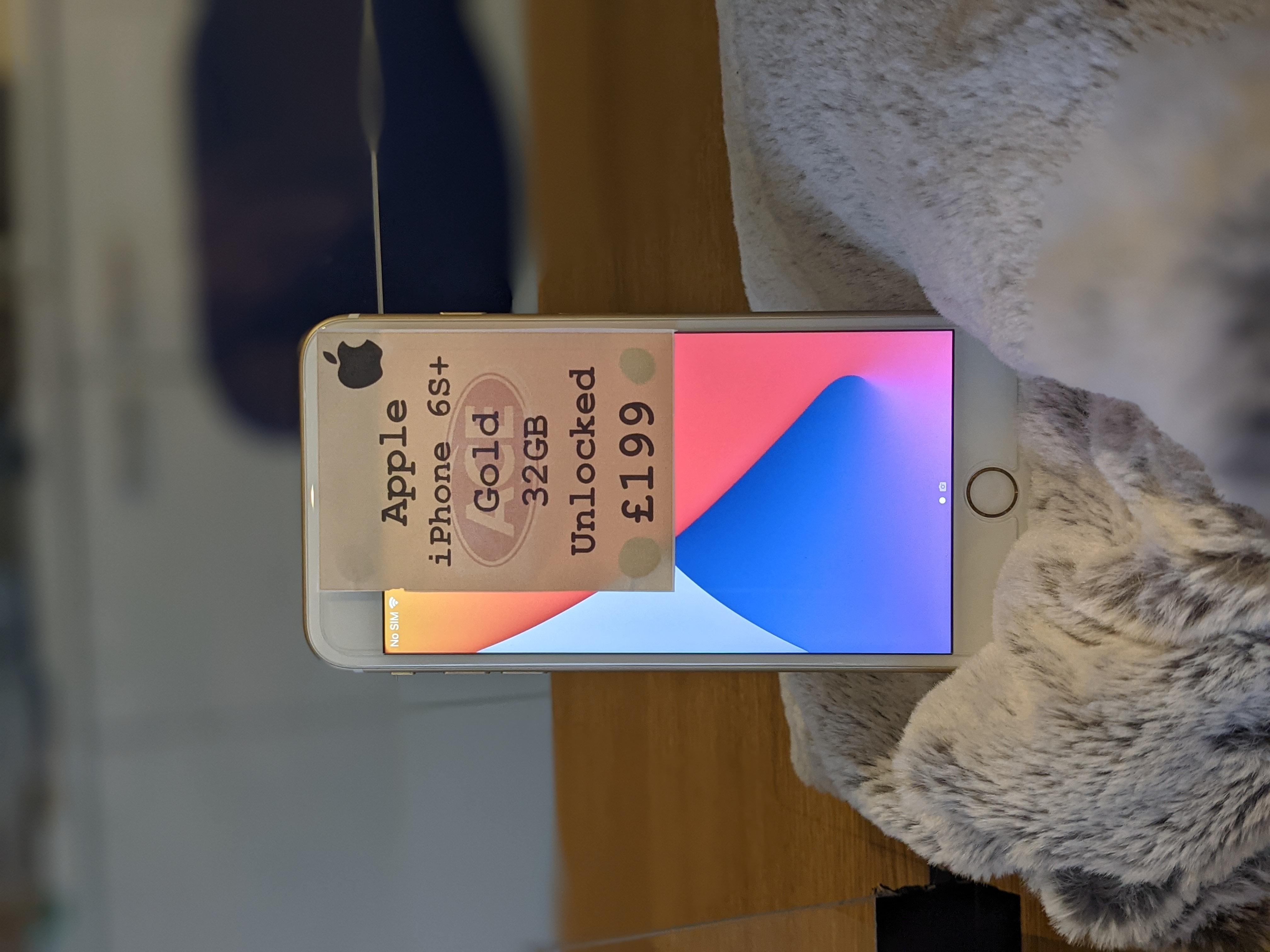 iPhone 6S Plus £179