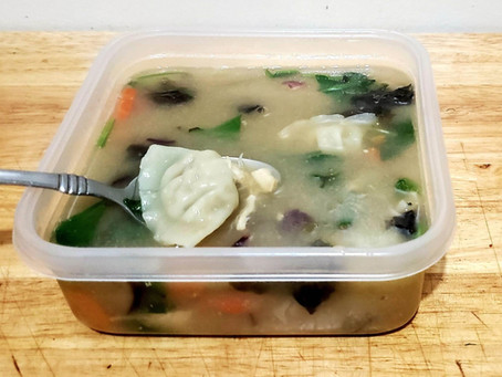 Chicken Vegetable Wonton Soup