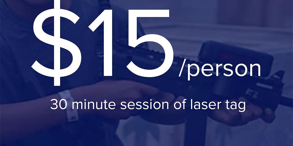 1 Laser Tag Session