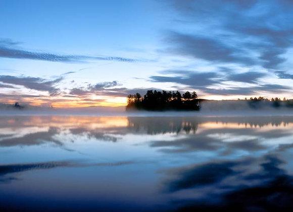 Raquette Lake Sunrise Pano