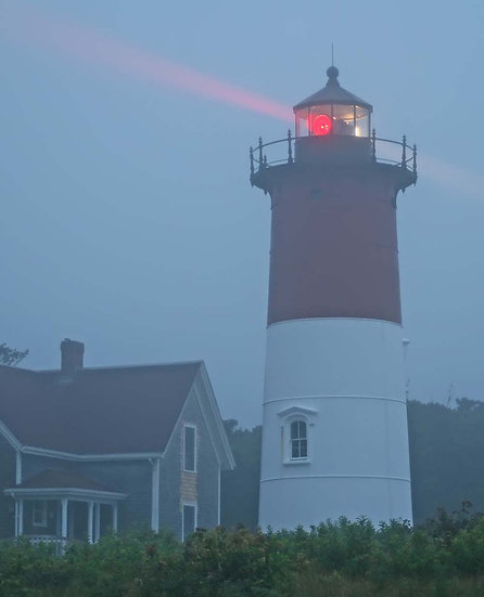 Nauset Light Morning Fog
