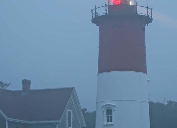Nauset Light Morning Fog