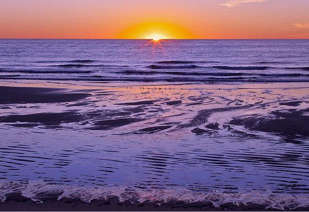 Sunrise at Nauset Light Beach