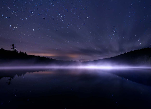 Brown's Tract Pond at Night