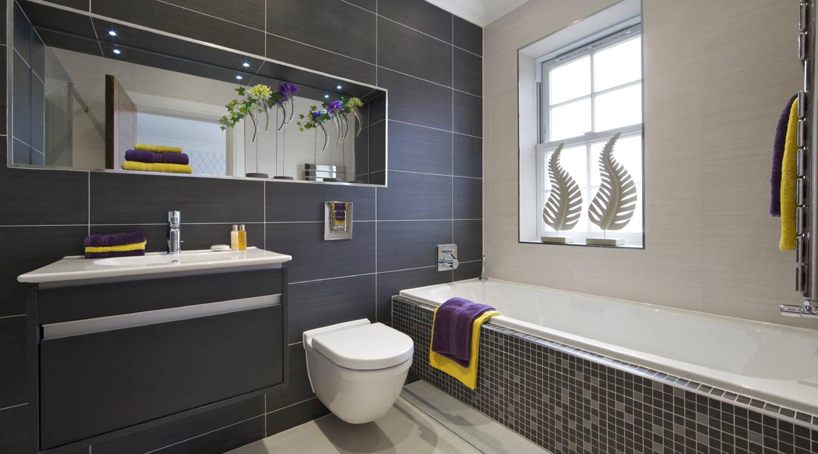Virtual World render of bathroom