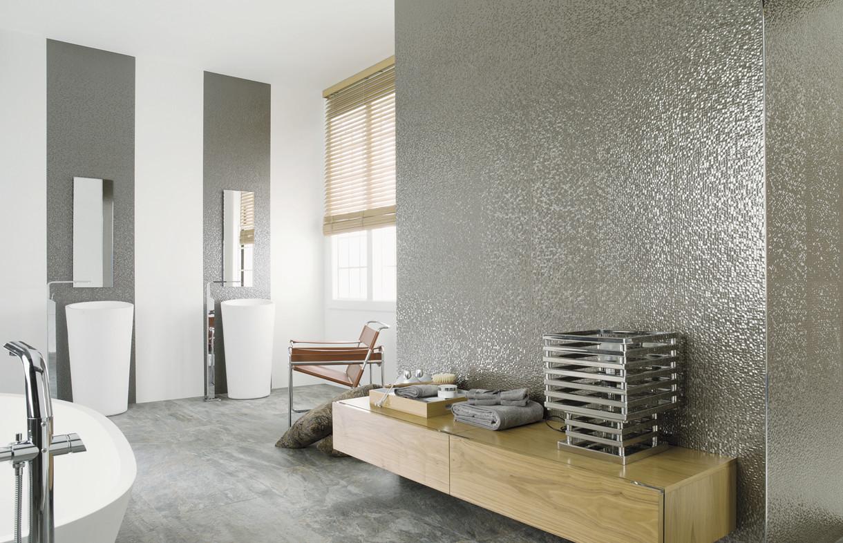 Porcelanosa-Cubica-silver-ceramic-tiles