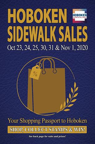 Hoboken 2020 Sidewalk Sale Passport-Fron