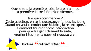 Écrire son introduction.