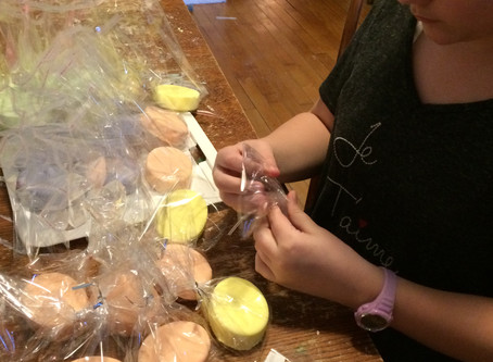 Easter Fizzies and Labeling