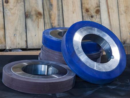 Обрезиненные кольца для резки стали
