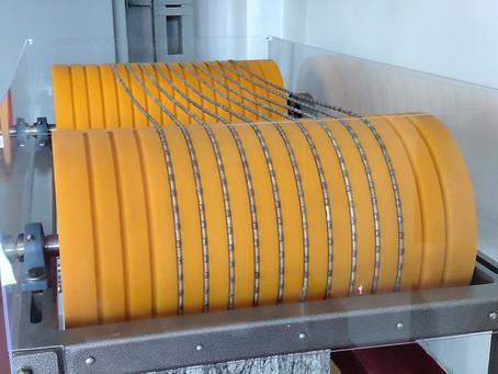 Полиуретановые шкивы для камнеобработки