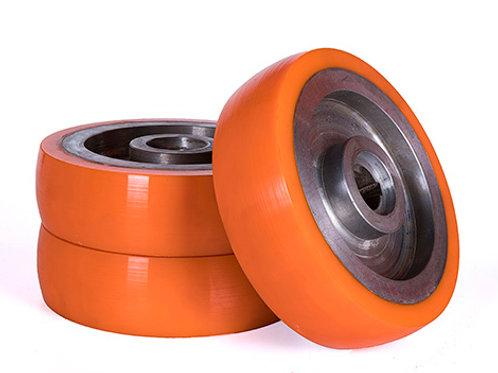Колесо полиуретановое д 250 мм