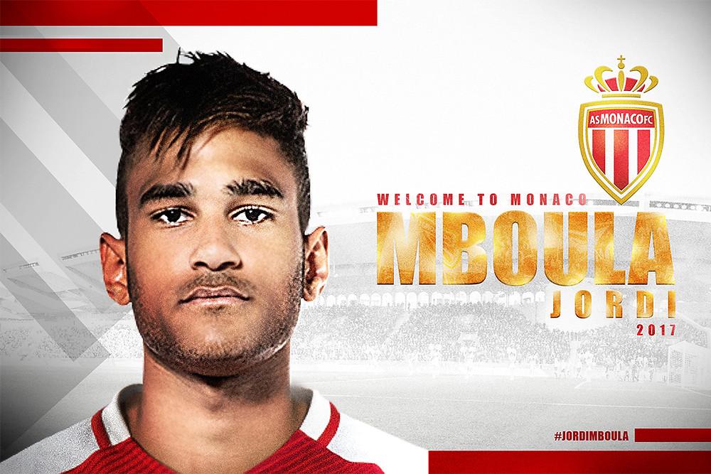 Monaco anuncia a contratação de Jordi Mboula
