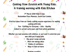 Workshop:  Cooking with Kids