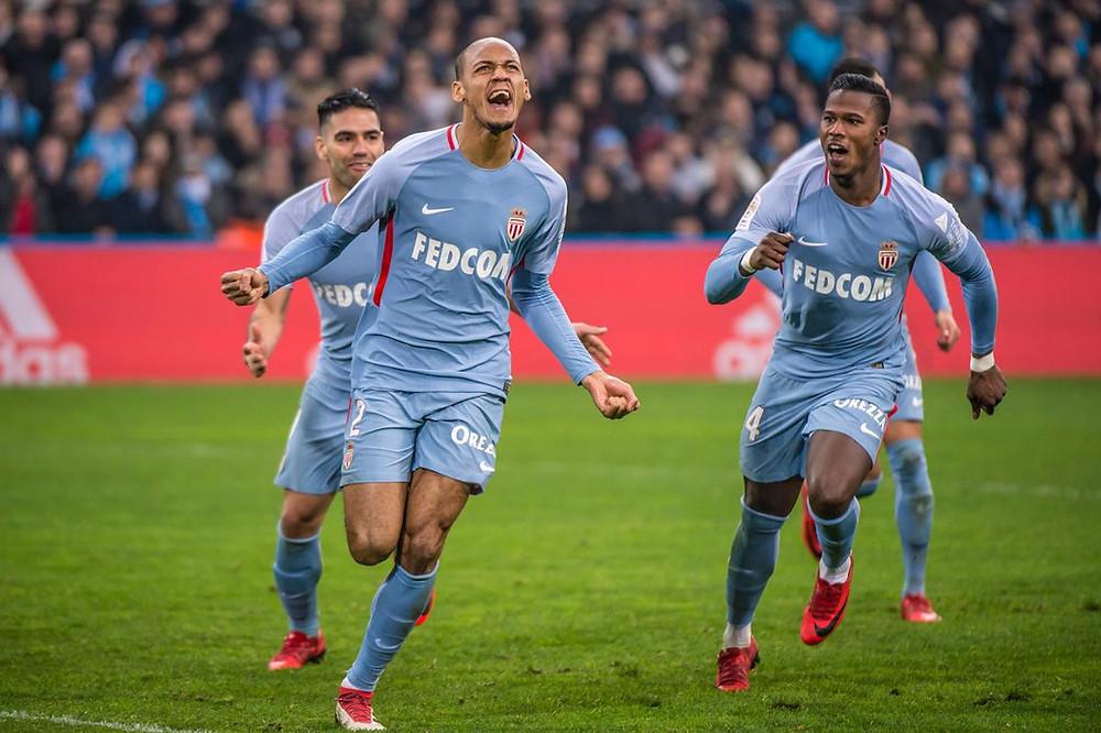 Fabinho, do Monaco, é um dos melhores jogadores da Ligue 1