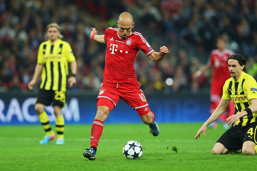 Robben marca na final da Champions 2012/2013