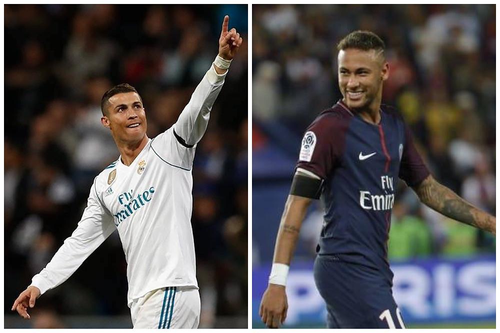 CR7 e Neymar: só um avança às quartas de final