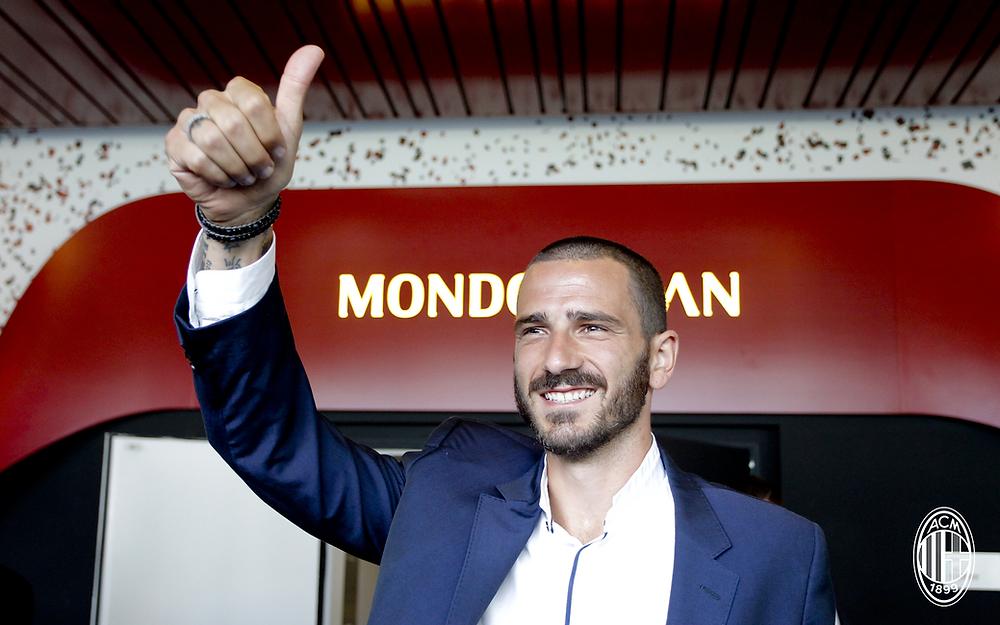 Bonucci é o novo reforço do Milan