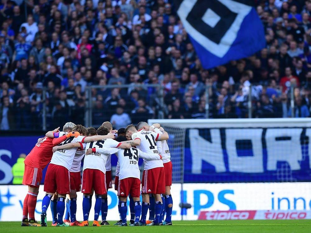HSV no Volkparkstadion