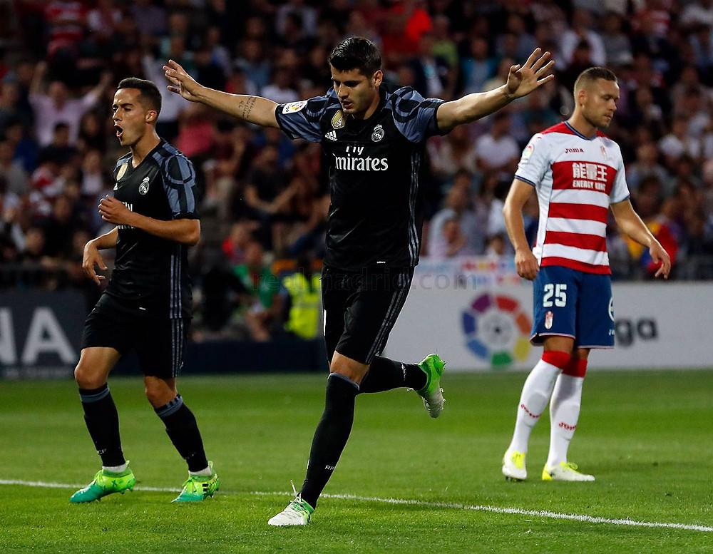 Morata em jogo pelo Real Madrid