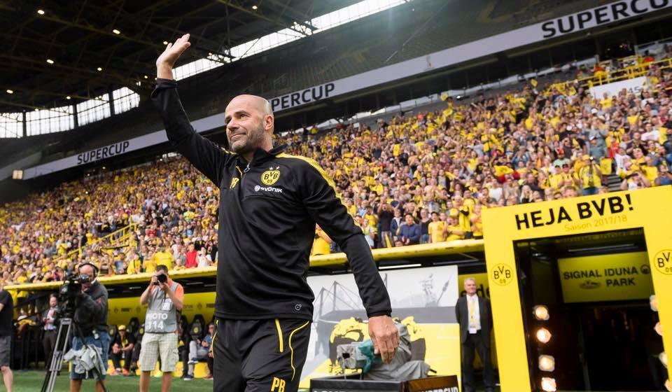 Peter Bosz é o novo técnico do Borussia Dortmund