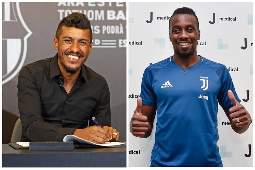 Paulinho é apresentado no Barcelona e Matuidi é apresentado na Juventus