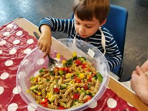 Kitchen Online:  2nd of June Pasta Salad and Lemonade