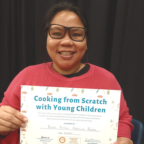 Course: Cooking From Scratch with Young Children