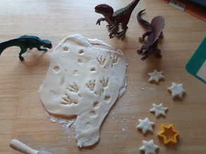 Virtual Playgroup - Thursday 25th February: Pastry Play