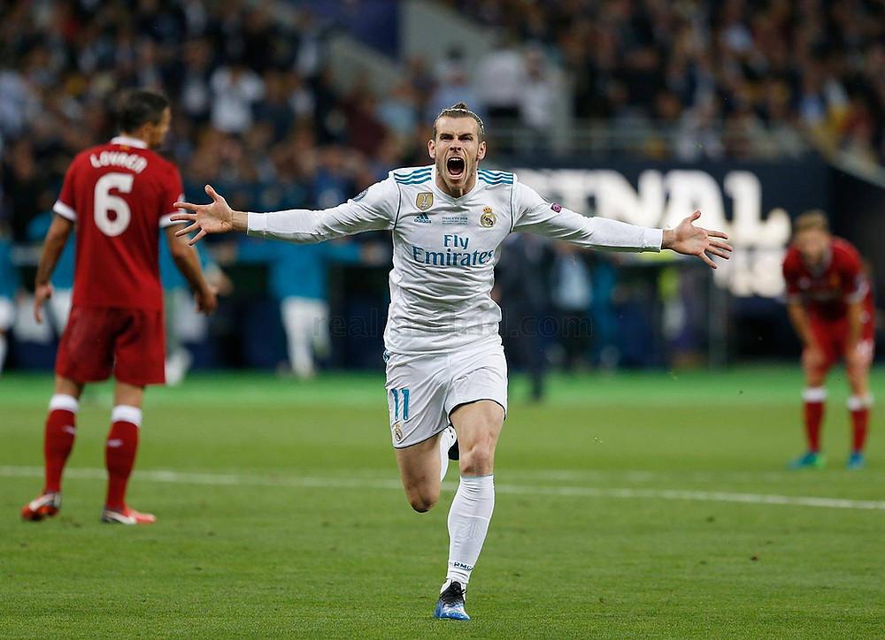 Bale fez dois gols na final da Champions