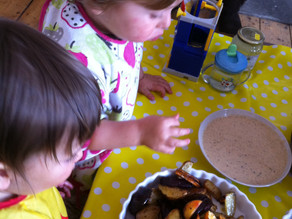 Kids Kitchen Online:  28th of April.  Chips and Dip