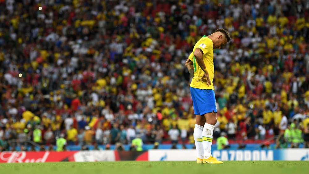 Neymar foi incapaz de conduzir a Seleção à virada