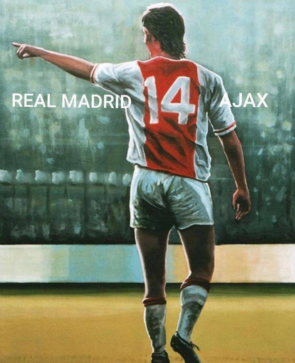Goleada de 4 a 1 foi o 14º confronto entre Real Madrid e Ajax