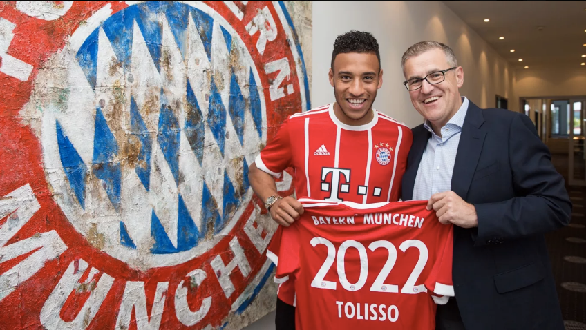 Corentin Tolisso é a nova contratação do Bayern