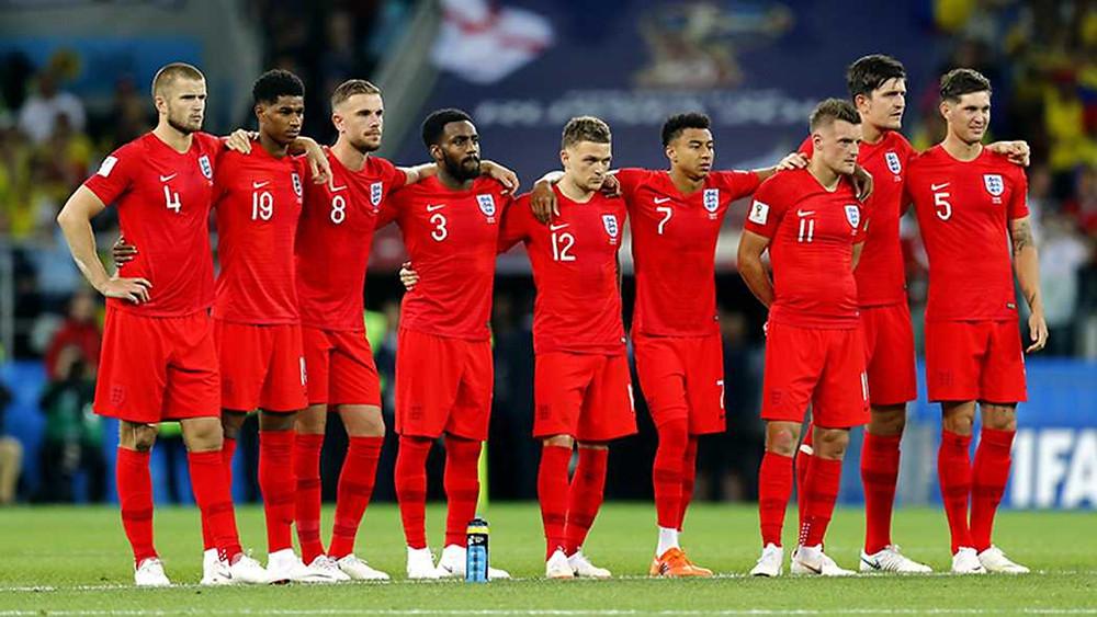 Inglaterra passou pela fraca Colômbia nos pênaltis