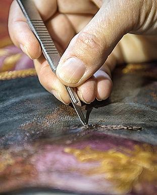 Restaurador Usando Scalpel