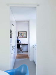 Enfilade woonkamer - keuken - dwarshalletje - werkkamern2