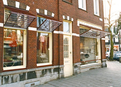Kledingwinkel Vlerk, Amsterdam Zuid, 1990
